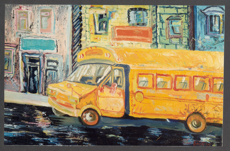 School Bus - New York 1995